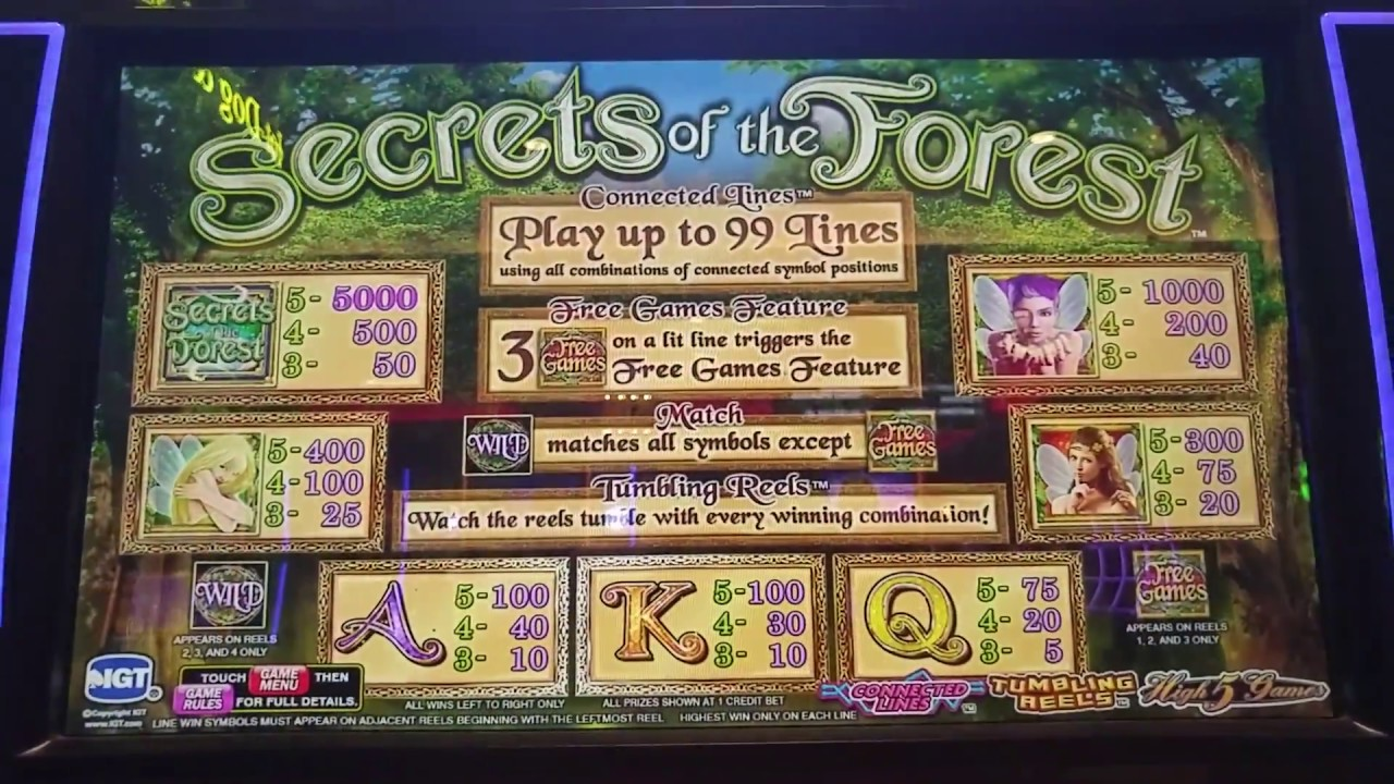 Play Secrets Of The Forest Free Online