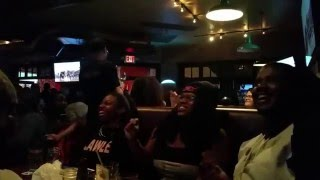 Super Bowl 50 Halftime Show reaction  restaurant version Coldplay Bruno Mars and Beyoncé