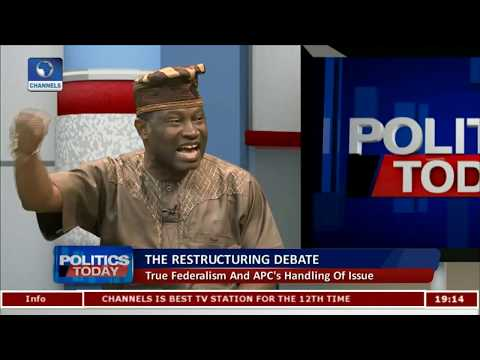 The APC's Idea Of True Federalism Is Very Progressive - Jiti Ogunye