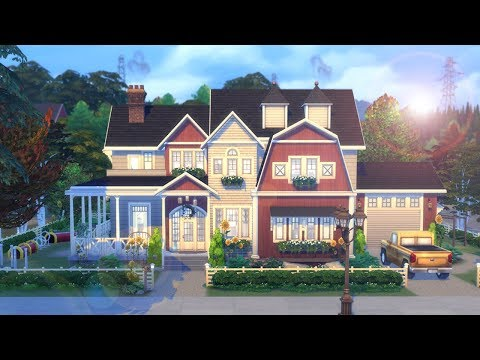 Brindleton Ranch 🌻 || The Sims 4 3 Packs ONLY! - Speed Build