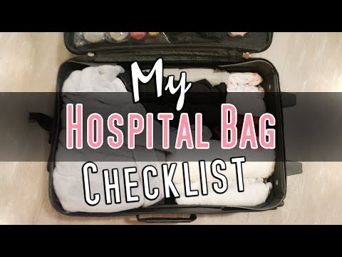 What's In My Hospital Bag? | Getting Ready For Labor In Winter!