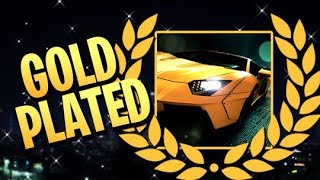 Need for Speed - Gold Plated Trophy