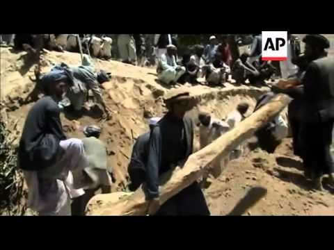 DISASTERS: Afghanistan - 50 feared buried by landslide following two earthquakes