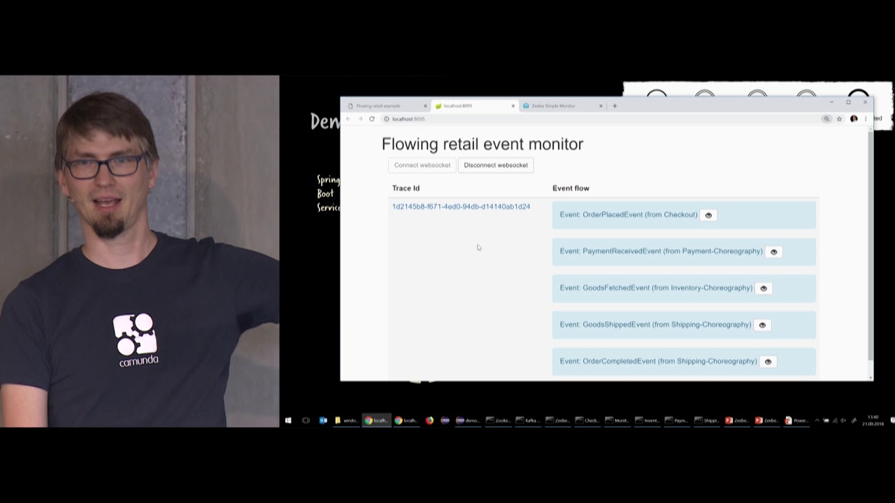 CamundaCon 2018: Big Workflow in Action: Zeebe Live Hacking (Camunda)