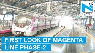 Magenta Line First Look: Kalkaji Mandir – Janakpuri West Metro corridor inauguration