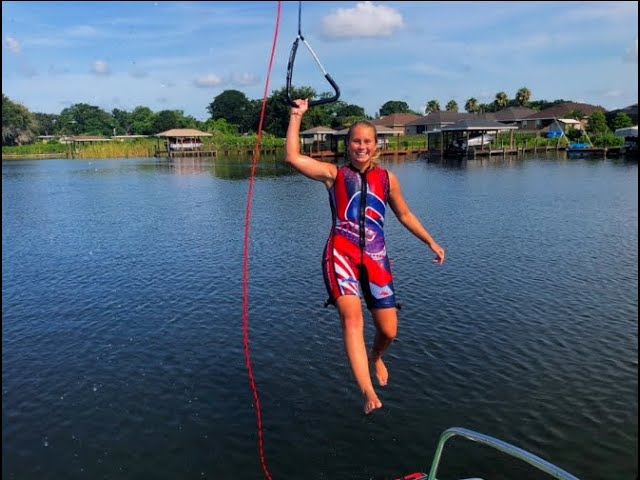 Catching up with 2019 USA-WWF Scholarship Winner and Barefooter Alex Youngblood