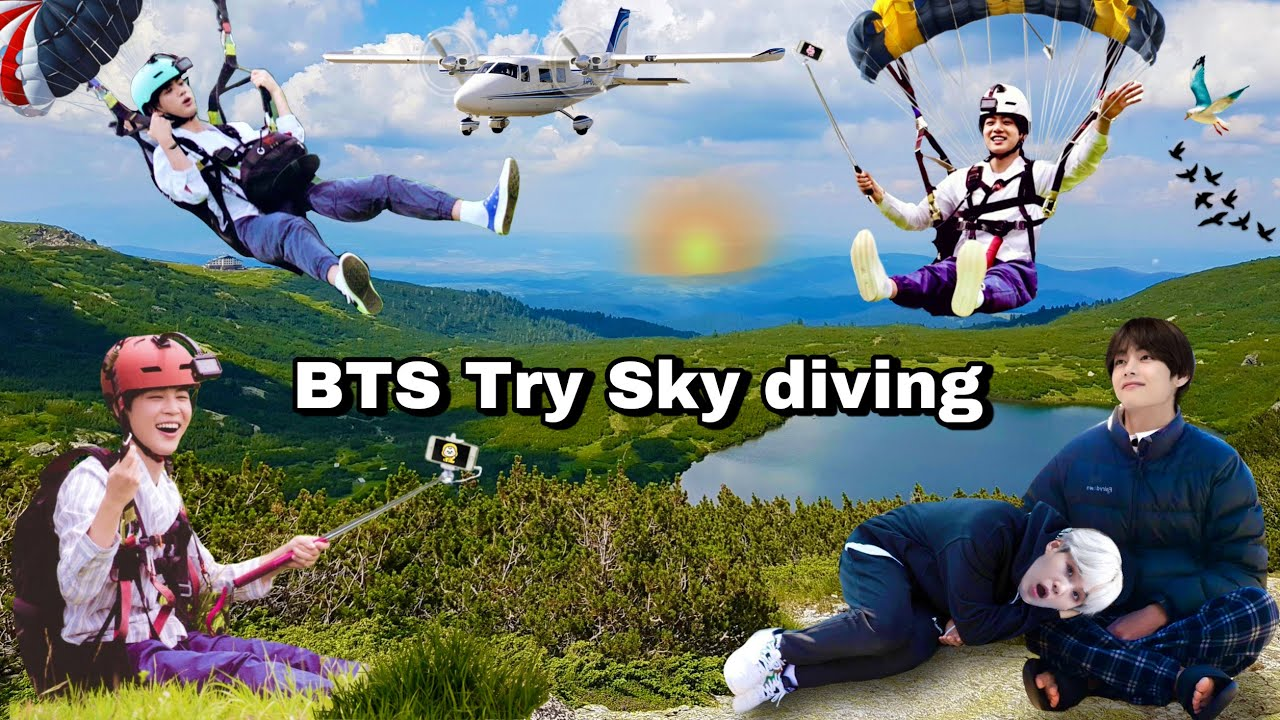 BTS try Bungee jumping 🧗🏻  Scary moment 😱🥶 // Hindi dubbing