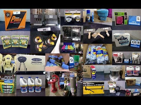 710 NEW Surplus Hardware Store Online Auction ~ Amarillo