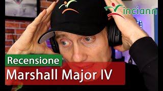 Recensione Cuffie Bluetooth Marshall Major IV : tanta classe ed insuperabile batteria da 80 ore