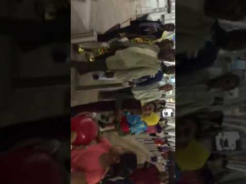 Uganda king at Ahemdabad Airport