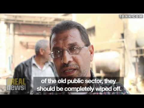 Inspired by Revolution, Egyptian Workers Occupy Factory