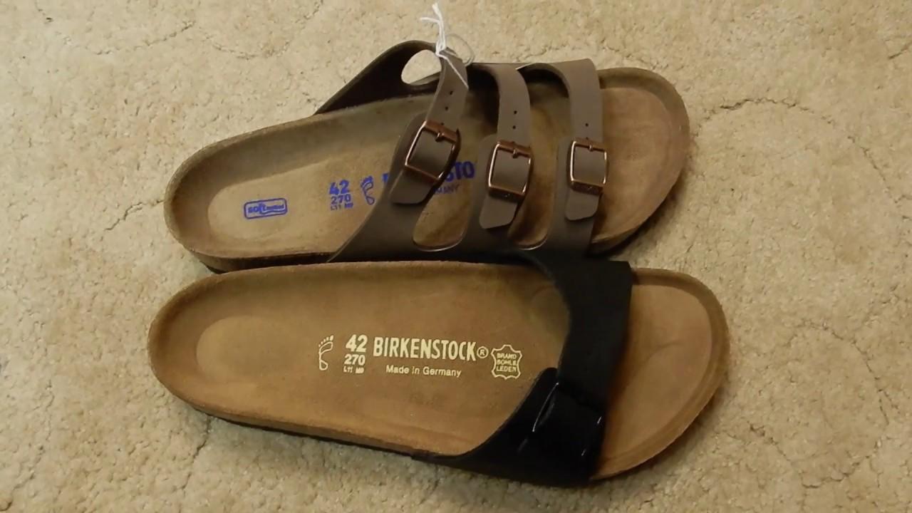 e40a44df65d Birkenstocks - Original or Soft Footbed  - YouTube