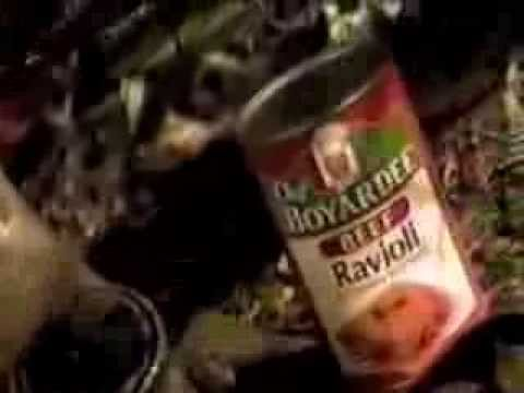 Chef Boyardee Beef Ravioli commercial (version 2) – 1996
