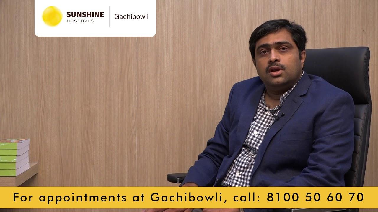 Dr Hari Krishna Reddy about Department of Dermatology at Sunshine Gachibowli