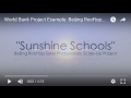 World Bank Project Example: Beijing Rooftop Solar Photovoltaic Scale-Up Project