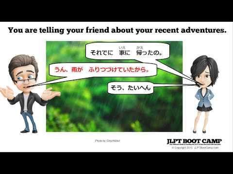 JLPT N4 Grammar: Using hajimeru, dasu, tudukeru, and owaru
