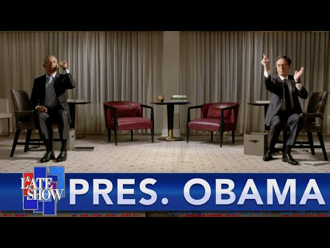Stephen Challenges President Barack Obama To A Game Of