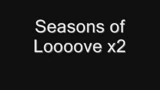 Rent Karaoke - Seasons Of Love - Solo Part Karaoke