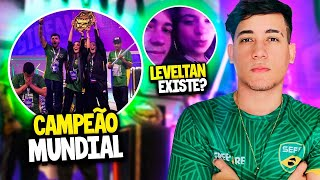 LEVELTAN EXISTE? CAMPEÃO MUNDIAL SHOWDOWN 2019 - FREE FIRE