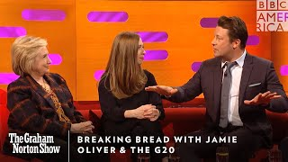 Breaking Bread With Jamie Oliver & The G20 | The Graham Norton Show | Friday at 11pm | BBC America