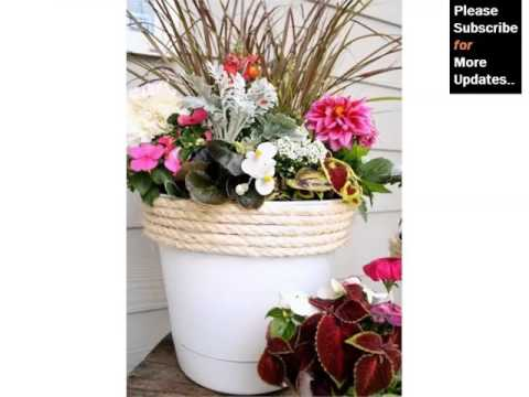 Flower Pot Arrangement Ideas Home Decor Pictures Ideas