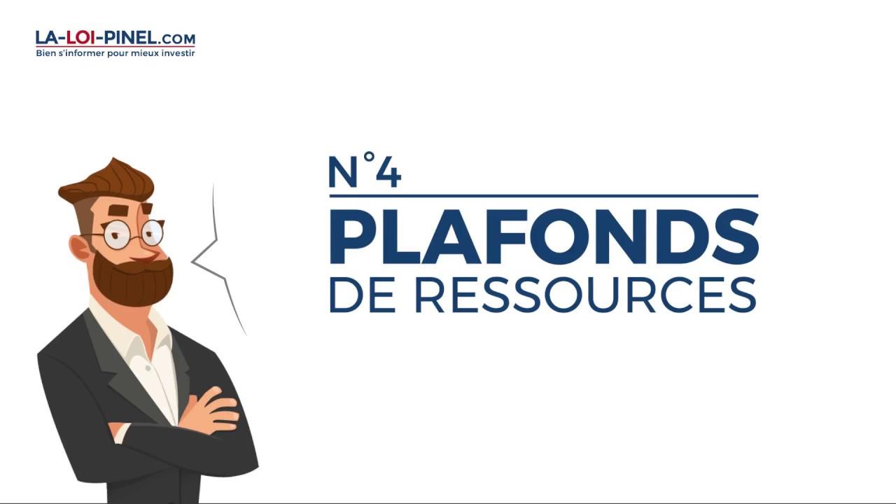 Les conditions d'éligibilité à la loi Pinel en 20s – #4 Plafonds de ressources