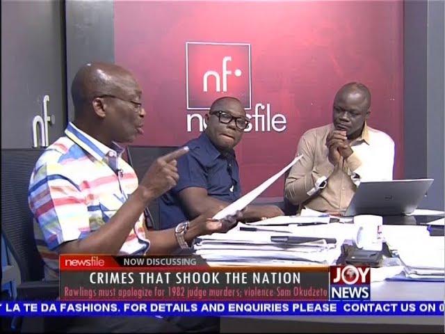 Crimes that Shook the Nation - Newsfile on JoyNews (6-10-18)