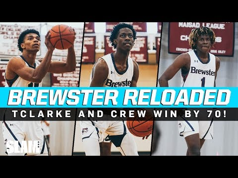 Terrence Clarke and New Look Brewster Squad Win by 70‼️🤯