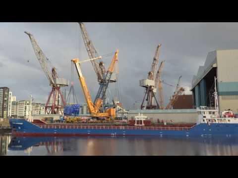Diesel Generator Installation on HMS Prince of Wales R09 HD