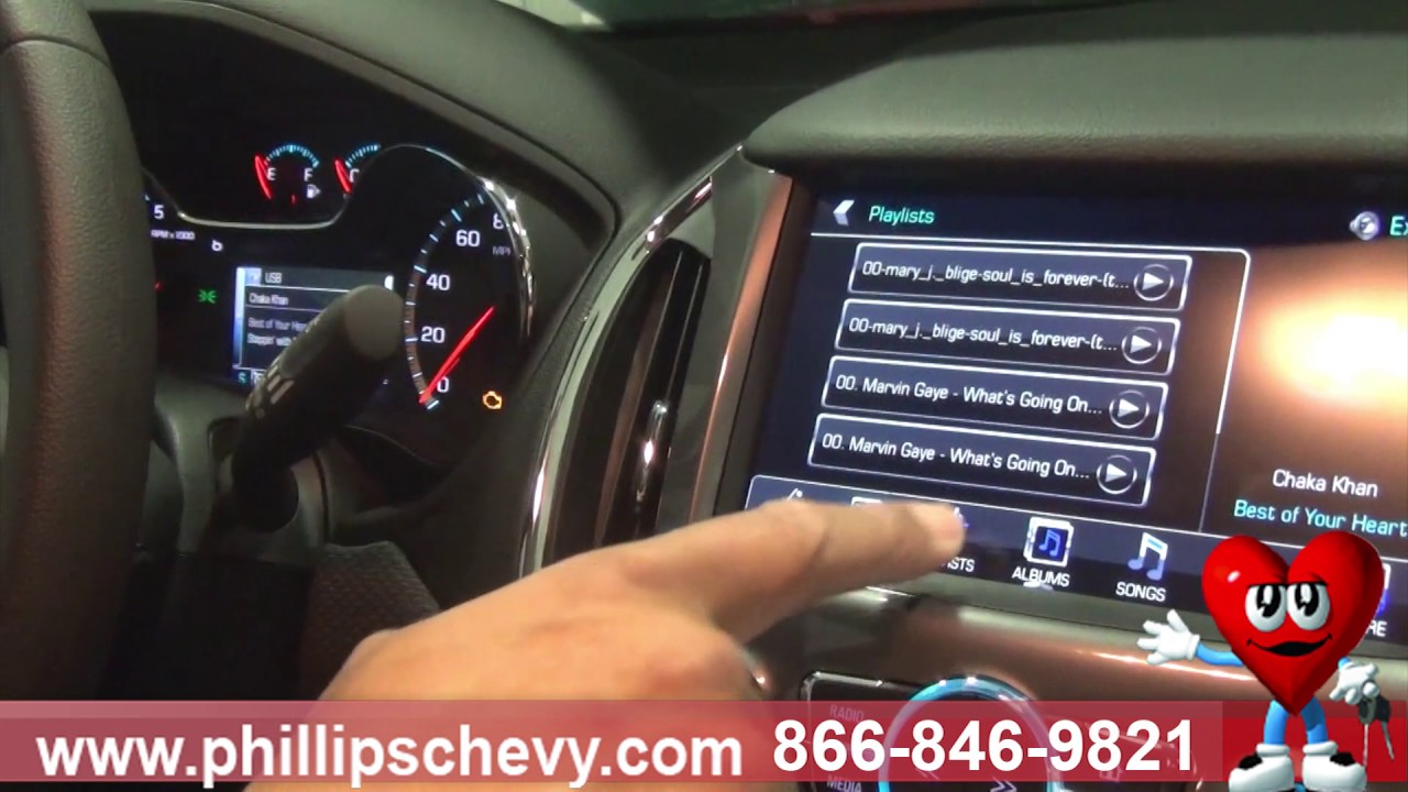 Phillips Chevrolet – How to Play Music with a USB Drive - Chicago New Car  Dealership