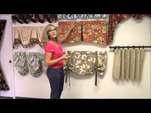 How to measure for different window valance styles.