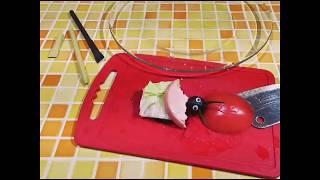 улитка божья коровка из помидора