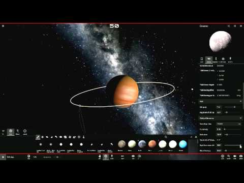 Universe sandbox 2 making a New Solar System