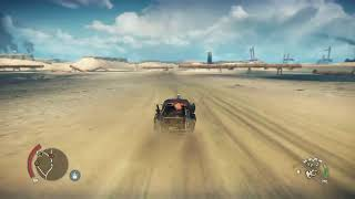 Mad Max free roam  PS4 Gameplay