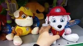Ryhmä Hau eli Paw Patrol leluja: Vainu, Rolle, Samppa, Toma, Rekku