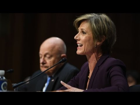 Yates: I told White House Flynn could be vulnerable to blackmail