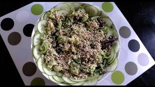 Сыроедный салат