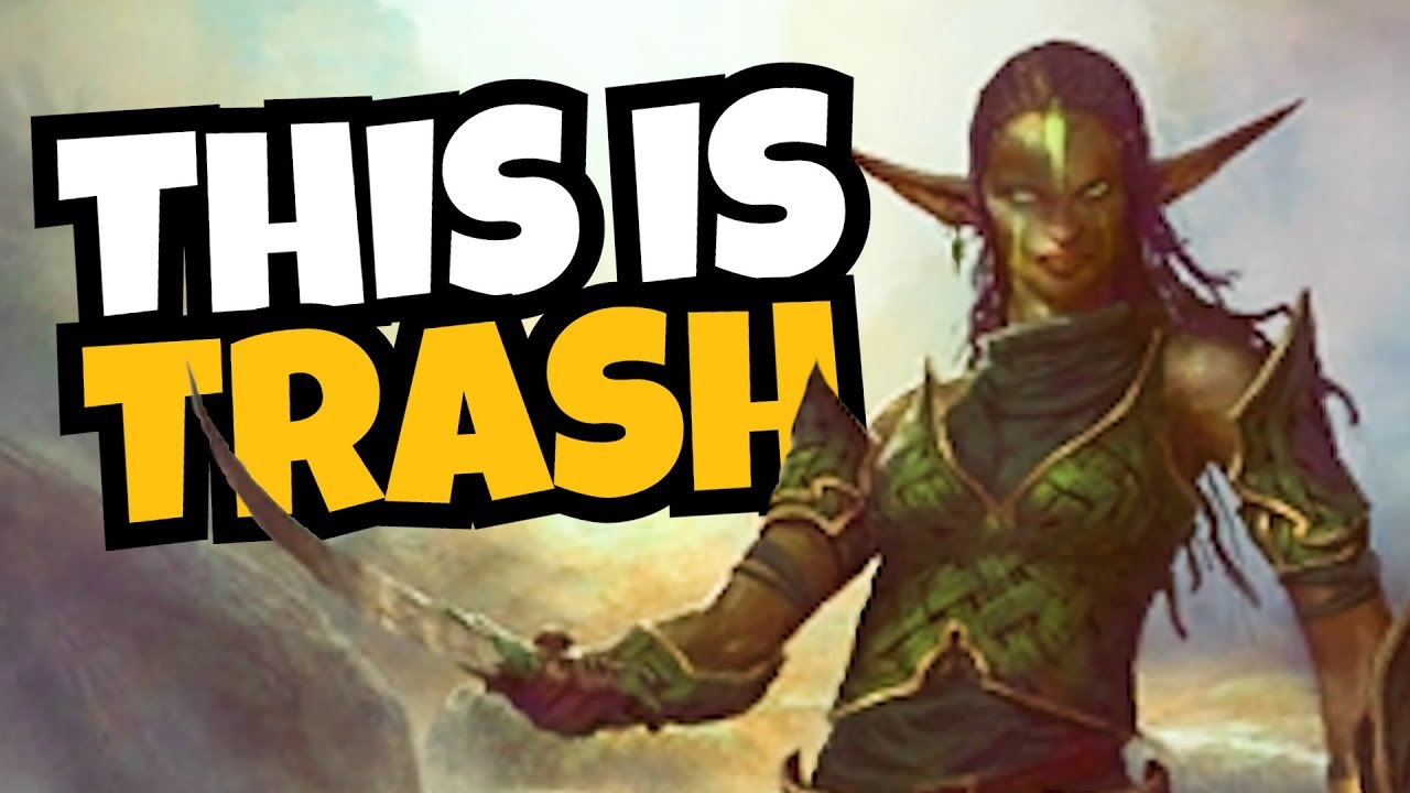 Das schlimmste Deck in Magic The Gathering spielen - FNM + video
