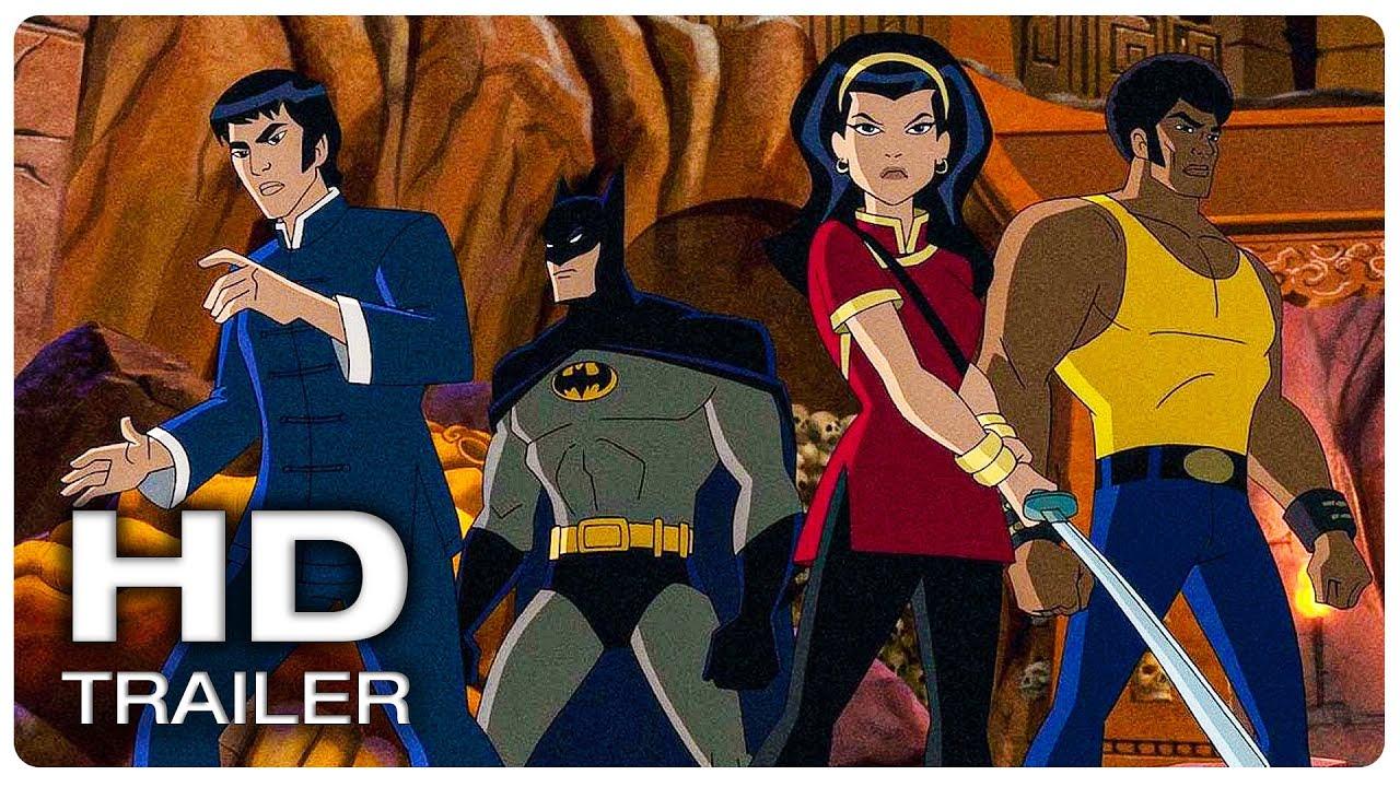 BATMAN SOUL OF THE DRAGON Official Trailer #1 (NEW 2021) Superhero Movie HD