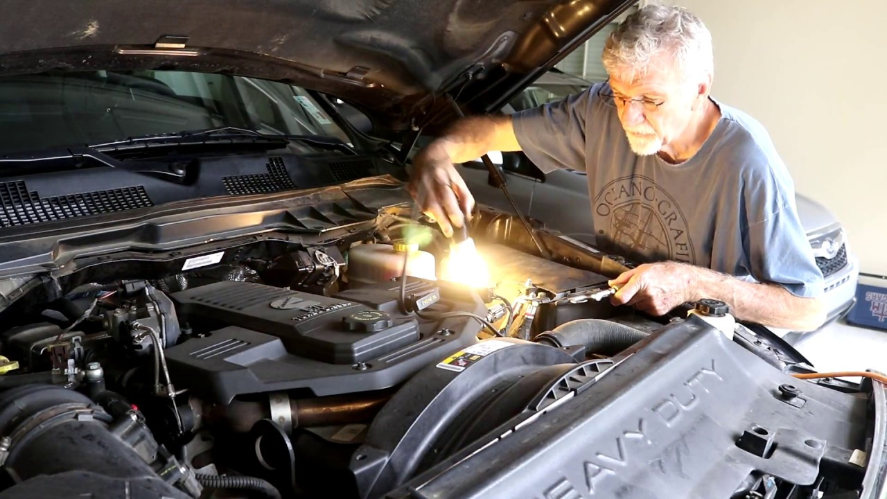 RAM 2500 4 x 4 Cummins - Front fuel filter change - YouTube | 2014 Ram 2500 Fuel Filters |  | YouTube
