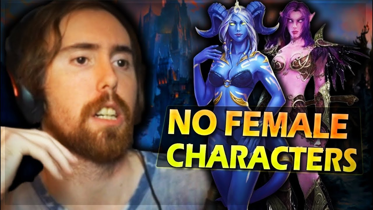 Why Asmongold NEVER Plays Female Characters In Games