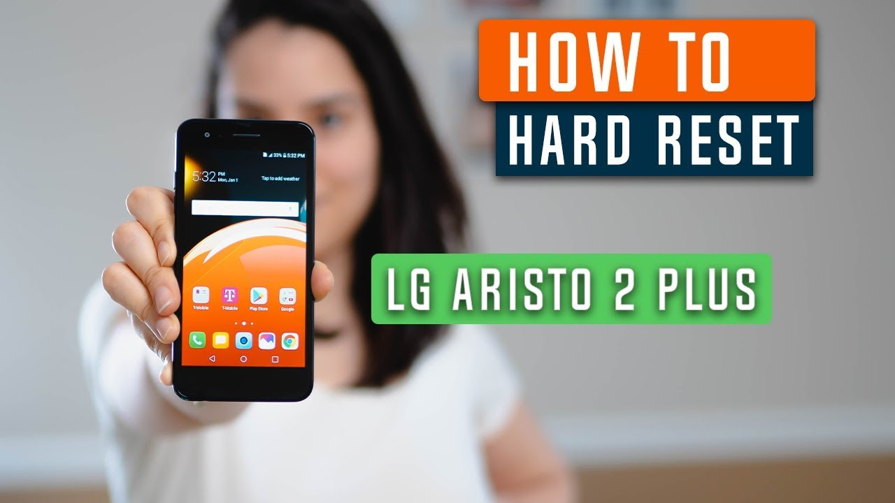 How to Restore LG Aristo 2 Plus to Factory Settings - Hard Reset