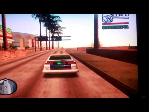 Carro Voador Gta San Andreas Ps2