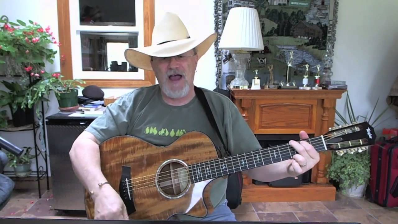 1158 Some Beach Blake Shelton Cover With Chords And Lyrics Youtube