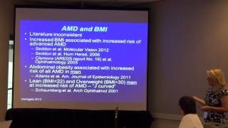 WEH,org Annual Meeting:AMD: The Role of Vitamin D Metabolism and BMI in Women's Eye Health