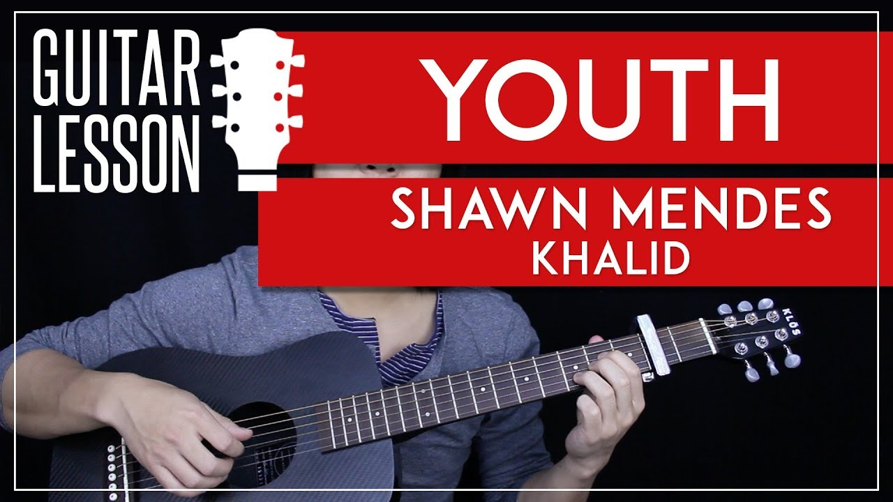Youth Guitar Tutorial Shawn Mendes Guitar Lesson Easy