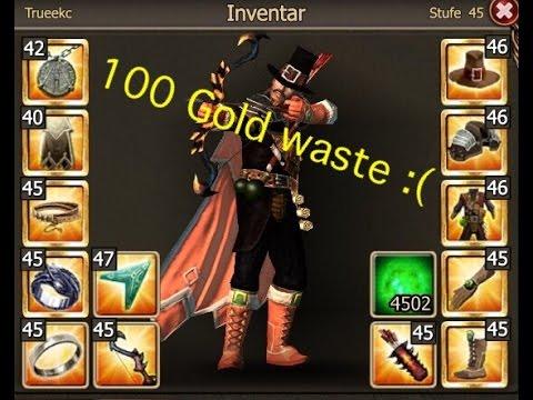 ★★100 Gold waste || Trueekc★★
