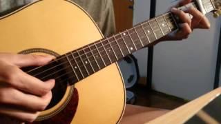 นอกสายตา ( Finger style guitar )