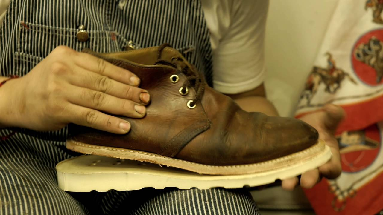red wing chukka boot resole 20 youtube
