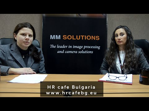 HR cafe Bulgaria meet MM Solutions - HR of the Month, February 2016